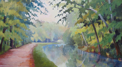 C and O canal painting